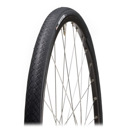 Fitness The 27 in. Vittoria Zaffiro II tire offers high-performance features at an unbeatable price. It's fast on the straightaways and grippy on the corners. - $9.93