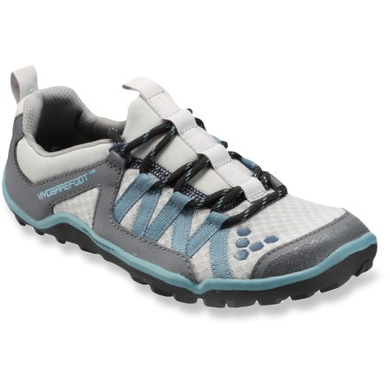 Fitness Vivobarefoot Breatho trail-running shoes are ready for aggressive trails and offer lightweight, breathable performance in a minimalist design. - $44.83