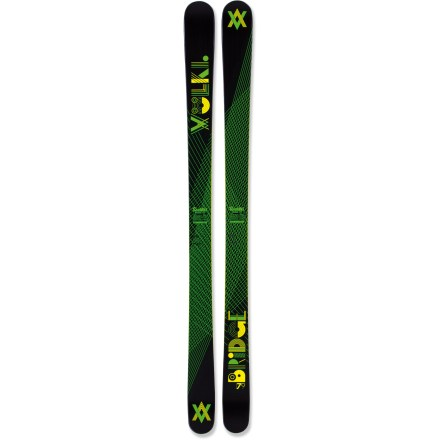 Ski The Volkl Bridge skis offer a smooth, playful connection between big mountain lines and the in-bounds half pipe. - $239.83