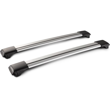 Camp and Hike Designed specifically for vehicles with raised factory siderails, this pair of aerodynamic and whisper-quiet Whispbar Rail Bars are a virtually silent roof rack system. - $342.93
