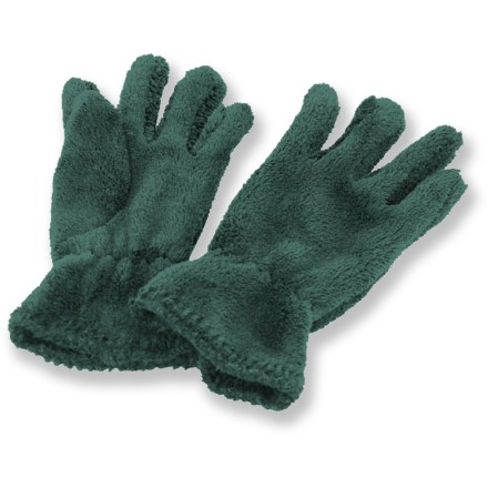 Ski Soft fleece makes the White Sierra Cozy gloves a must have. Breathable, quick-drying and non-pilling polyester fleece offers warmth without a lot of weight, so you stay comfortable. Special buy. - $12.73