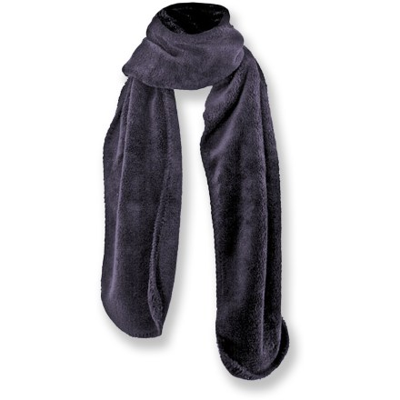 Ski The White Sierra Cozy Scarf features soft and insulating polyester fleece for warmth and comfort every time you wrap it around your neck. - $6.73
