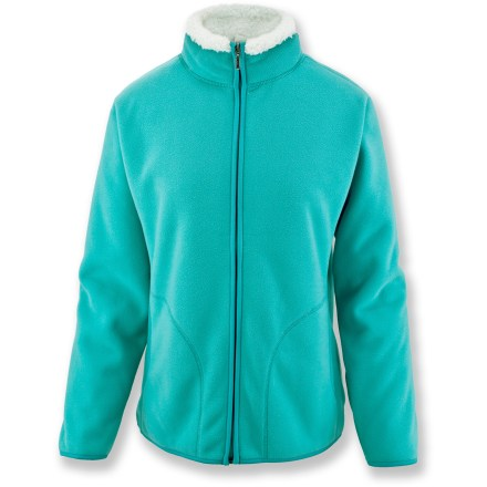 Entertainment Perfect for huddling around the campfire, the White Sierra Soda Springs jacket is 1 piece you'll never want to leave behind. Super cozy fleece offers lightweight warmth for a variety of outdoor pursuits. Full zip and front hand pockets. Special buy. - $39.93