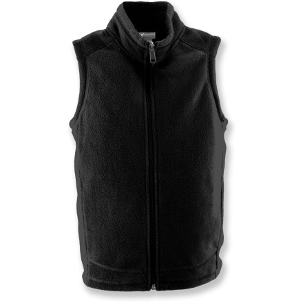 Entertainment The Sierra Mountain fleece vest from White Sierra keeps your kid's core toasty on chilly days. - $16.73