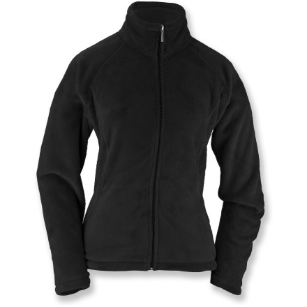 Entertainment Ideal for any adventure, the White Sierra Cozy fleece jacket in extended sizes is lightweight, warm and soft against skin. - $34.73