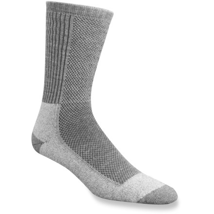 Camp and Hike These Wigwam Cool-Lite Hiker Pro socks are designed with moisture-wicking fabrics and mesh ventilation panels to keep feet cool and dry in warm weather - $14.00