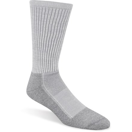 Fitness For outdoor athletic activities, you'll love the foot-hugging comfort of the versatile Wigwam Cool-Lite Pro Crew socks. This is one pair that will stay at the top of your sock drawer! - $8.93