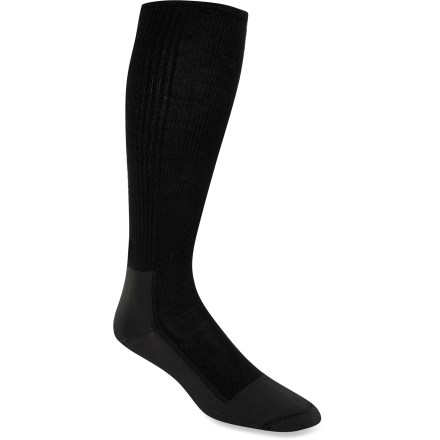 Ski The light Wigwam Snow Whisper Pro socks fit like a second skin. They are ideal for skiers and riders who want to feel their boots for maximum control. - $10.93