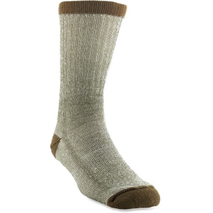 Camp and Hike Amble about in comfort with this package of 2 pairs of Wigwam Wool Rambler socks, which transition from trail to cabin easily and keep feet cozy thanks to a touch of wool. - $17.00