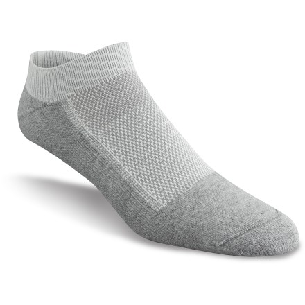 Fitness For outdoor athletic activities, you'll love the foot-hugging comfort of the versatile Wigwam Cool-Lite Pro Low socks. This is one pair that will stay at the top of your sock drawer! - $4.83