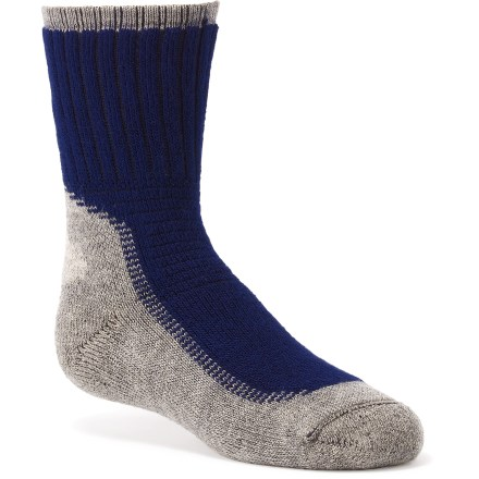 Camp and Hike These Wigwam crew socks feature moisture-wicking fibers to keep feet dry and comfortable. - $6.93