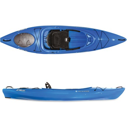 Kayak and Canoe Love to paddle lakes, but looking to enjoy the experience of some faster-moving rivers? The Wilderness Systems Aspire 105 helps expand your paddling repertoire beyond stillwater. - $590.93