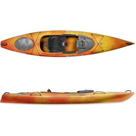 Kayak and Canoe Nimble and fun, the Wilderness Systems Pungo 120 kayak builds great memories on the water thanks to its easy-to-paddle design. - $694.93