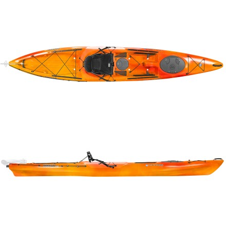 Kayak and Canoe A favorite among paddlers and avid anglers alike, the Wilderness Systems Tarpon 140 sit-on-top kayak opens up local waterways to leisurely paddles and day trips. - $814.93