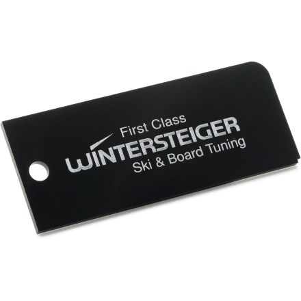 Ski This quality Wintersteiger Plexi Scraper makes short work of removing wax when tuning your skis. - $3.83