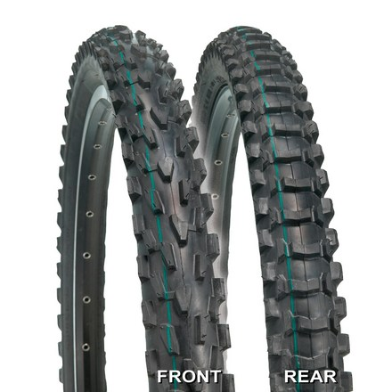 MTB For almost any dirt condition, the tried-and-true VelociRaptor(TM) tires offer the 2.1 deep tread point of reference. - $26.93