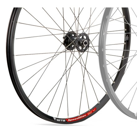 MTB Here's a front disc cross-country wheel with a quality rim and hub at a price that won't break the bank. - $53.93
