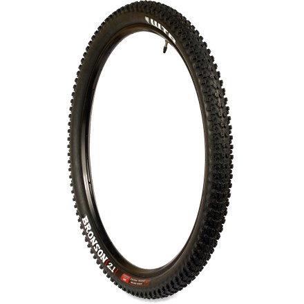 MTB Ready for action, the WTB Bronson Comp mountain bike tire tackles cross-country trails with ease, and doesn't break the bank. - $15.93