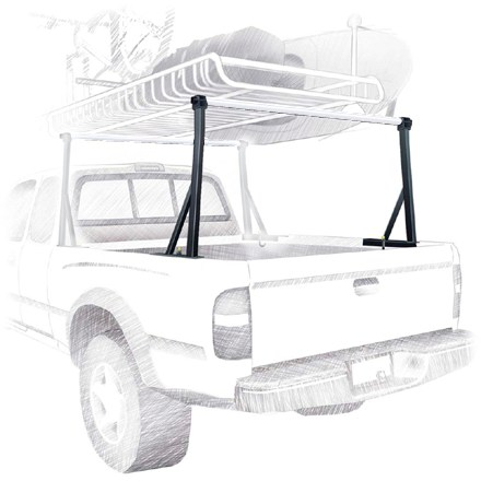 Camp and Hike This no-drill, multisport rack system for pickups puts the load up top so you can use your truck bed for all the rest of your stuff! - $209.00