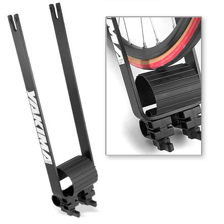 Fitness The new industry standard for wheels aloft--secondary retention tabs mean the wheel won't eject, even if the skewer is not tightened correctly. - $23.83