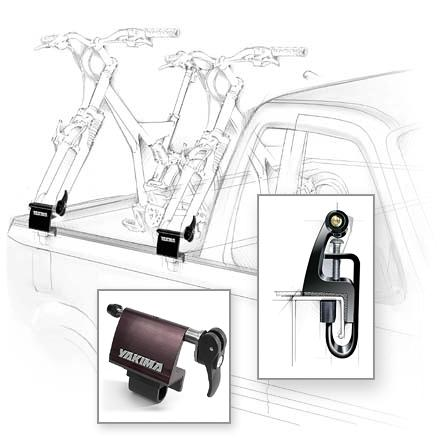 Fitness The BedHead is the no-drill alternative for carrying your bike by its front fork in the bed of trucks. - $80.00