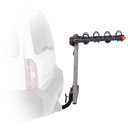 Fitness Carry your bikes with the king of swing! Yakima SwingDaddy hitch rack lets you access your vehicle without taking bikes off the rack. - $302.93