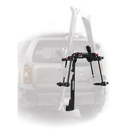 Ski Use the Yakima HitchSki with your existing hitch bike rack to convert it into an efficient hauling machine for 6 pairs of skis or 4 snowboards. - $219.00