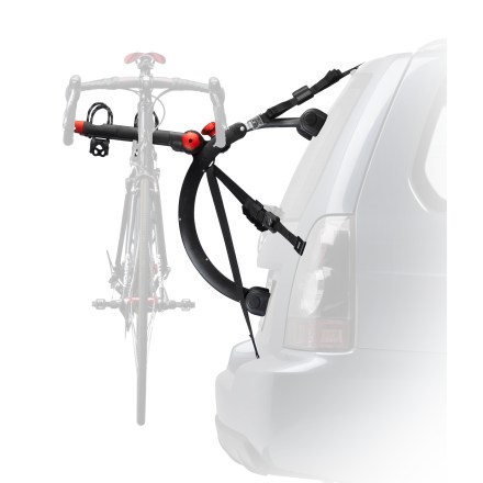 Fitness Quick installation and easy to use, the Yakima QuickBack 2 trunk mounting bike carrier supports up to 2 bikes on the back of your car. - $158.93