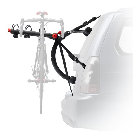 Fitness Quick installation and easy to use, the Yakima QuickBack 3 trunk mounting bike carrier supports up to 3 bikes on the back of your car. - $166.93