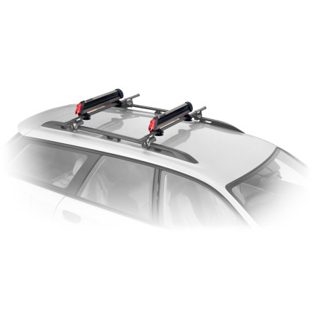 Ski Carry up to 6 pairs of skis or 4 snowboards on your roof rack with this newly redesigned, affordable and easy-to-use Yakima Big Powderhound classic mount. - $169.00