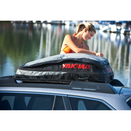 Camp and Hike The Yakima FarOut Pro cargo bag expands from 9 to 12 cu. ft. of storage. Low-profile, aerodynamic bag attaches to any roof top for a quick and easy weekend escape. - $174.93