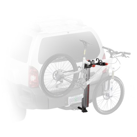 Fitness The Yakima HighLite 2 hitch bike rack is a breeze to use! Lightweight construction makes it hassle-free to install, while integrated lock keeps bikes safe. - $236.83