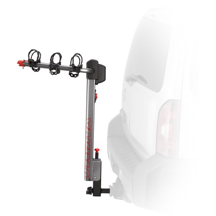 Fitness The Yakima HighLite 3 hitch bike rack is a breeze to use! Lightweight construction makes it hassle-free to install, while integrated lock keeps bikes safe. - $359.00
