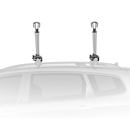 Kayak and Canoe Add a pair of Yakima BigStack Boat Rack posts to your rooftop rack and you can carry up to 4 kayaks on their side on most vehicles. - $159.00