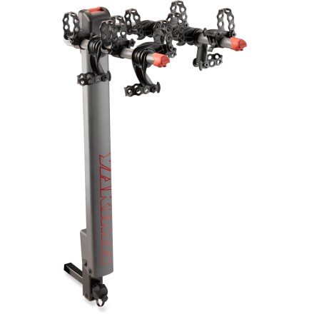 Fitness The Yakima DoubleDown Ace 4 bike rack gives you the best of both worlds by safely transporting up to 4 bikes, and then providing easy access to your vehicle. - $208.93