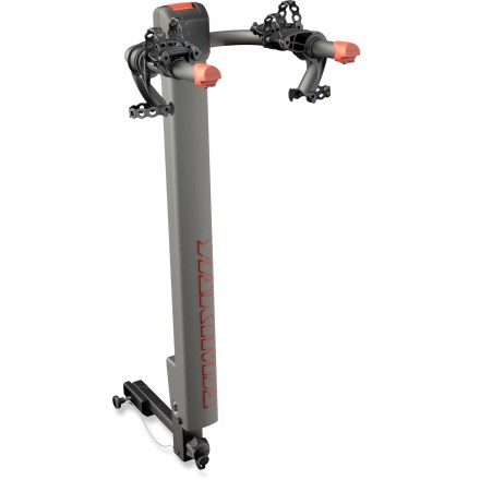 Fitness The Yakima DoubleDown Ace 2 bike rack gives you the best of both worlds by safely transporting up to 2 bikes, and then providing easy access to your vehicle. - $174.93