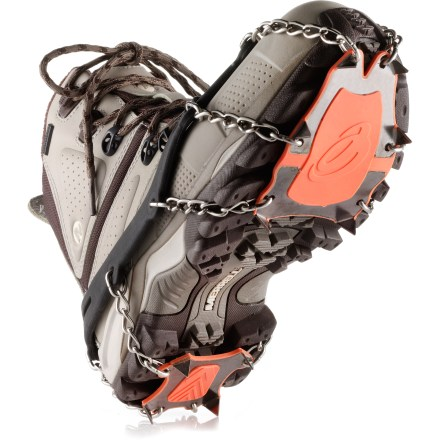 Camp and Hike The Yaktrax XTR Extreme Outdoor traction devices take winter traction to the next level, with stainless-steel spikes that provide powerful bite into even the iciest terrain. - $34.93