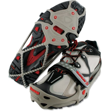 Fitness The Yaktrax Run Winter traction devices are designed specifically for running shoes, letting you maintain your stride through winter. - $19.93