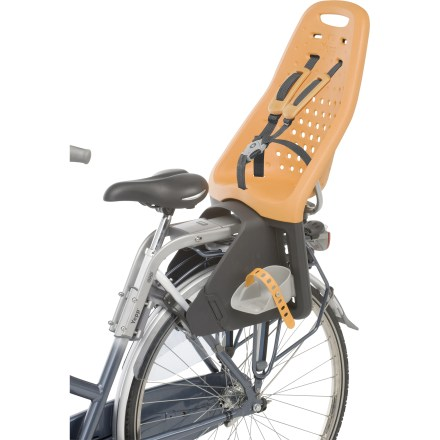 Fitness Yepp Maxi Rear Bicycle child carrier securely and safely lets your child ride along with you, thanks to an innovative design and sturdy construction. - $229.95