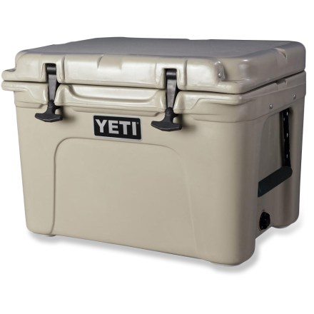Camp and Hike Built to take the abuse of adventure and serve up its frosty contents no matter where you play, the YETI Tundra 35 is anything but ordinary. - $300.00