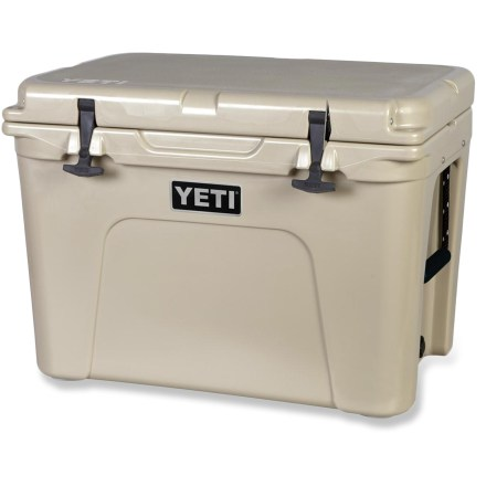 Camp and Hike From cracked corners to caved-in lids, ordinary coolers can't handle a life of adventure. The YETI Tundra 50 is anything but ordinary, and is built to take the abuse that comes with the way you play. - $380.00
