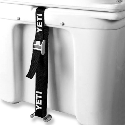 Camp and Hike Secure your YETI cooler (sold separately) in a boat, truck bed or trailer with this Tie-Down kit. - $50.00