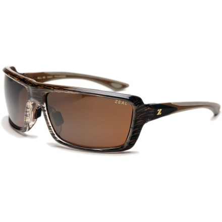 Entertainment With an impressive fit and coverage, the Zeal All In polarized sunglasses will keep you looking great while protecting your eyes from harmful rays. - $68.83