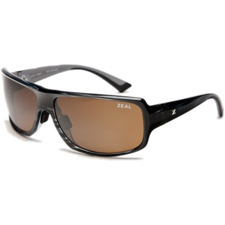 Entertainment Hitting the trail or hanging out on the deck, the Zeal Epic polarized sunglasses suit all your outdoor activities, any time of day. - $63.83