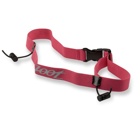 Fitness When the big day comes, clip on the Zoot Race Day belt to keep track of your race number. - $3.93