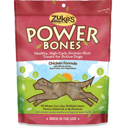 Camp and Hike Power your pup up the trail with these natural, high-energy endurance treats for dogs. Formulated by vets and canine nutritionists with no added animal fat, tallow, wheat, BHA /BHP preservatives, artificial color or flavors. Made of natural nutrients like peanut butter, essential oils, carbohydrates, minerals and vitamins for a rich, chewy, naturally-delicious treat. - $6.00