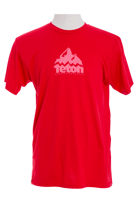 Ski Athlete inspired, Teton Gravity Research's Team Logo T-Shirt keeps it simple, but gives you the quality we expect from everything we put our logo on.   50% Organic Cotton/50% Recycled Polyester Regular Fit - $24.95