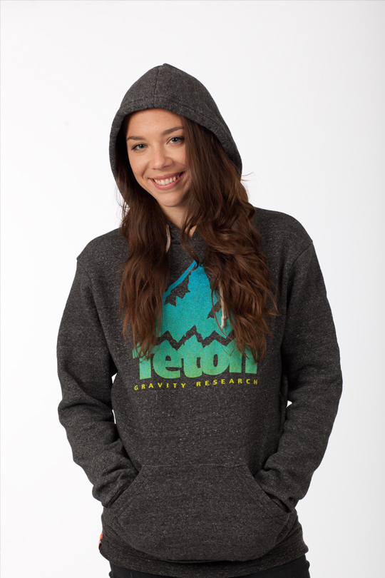 Ski When it comes to the ultimate in comfort and style, look no further. Constructed of a unique blend of organic cotton, recycled polyester, and naturally occurring rayon, this eco-fleece hoodie will become your everyday favorite.    50% polyester, 46% cotton, 4% rayon  Colors: Black, Bark, Oatmeal  Sizing: Unisex S-XL   Fit note: This style runs small, size up one size - $32.95