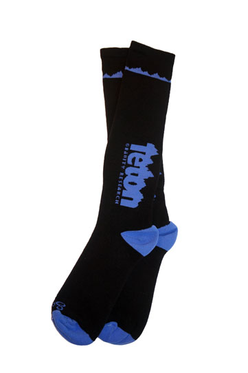 Ski Looking for a little performance in your life? Check out the Teton Gravity Research Synthetic Sock made from Ultra Wicking Micro Denier Acrylic, which means your feet stay dryer, so you can spend more time on the mountain.    75% Ultra Wicking Micro Denier Acrylic, 15% Nylon, 10% Spandex S/M Fit Men 5-9 & Women 6-10 L/XL Fit Men 9-13 & Women 10-14 - $22.95