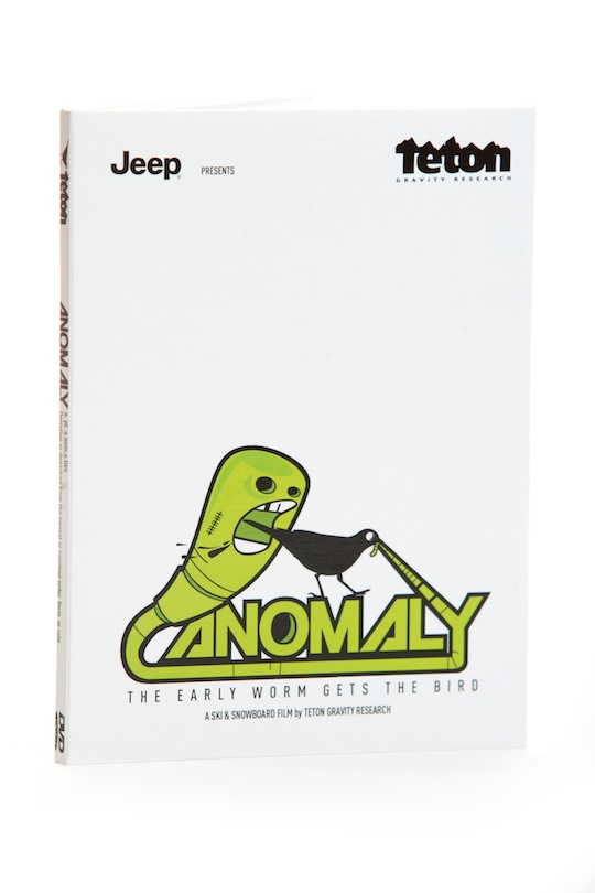 Ski anomaly n. pl. anomalies 1. Deviation or departure from the normal or common order, form, or rule.2. A Ski & Snowboard film by TGR Anomaly TGR's 16mm and HD ski and snowboard release showcases the freakish and abnormal abilities of today's top athletes. - $11.95